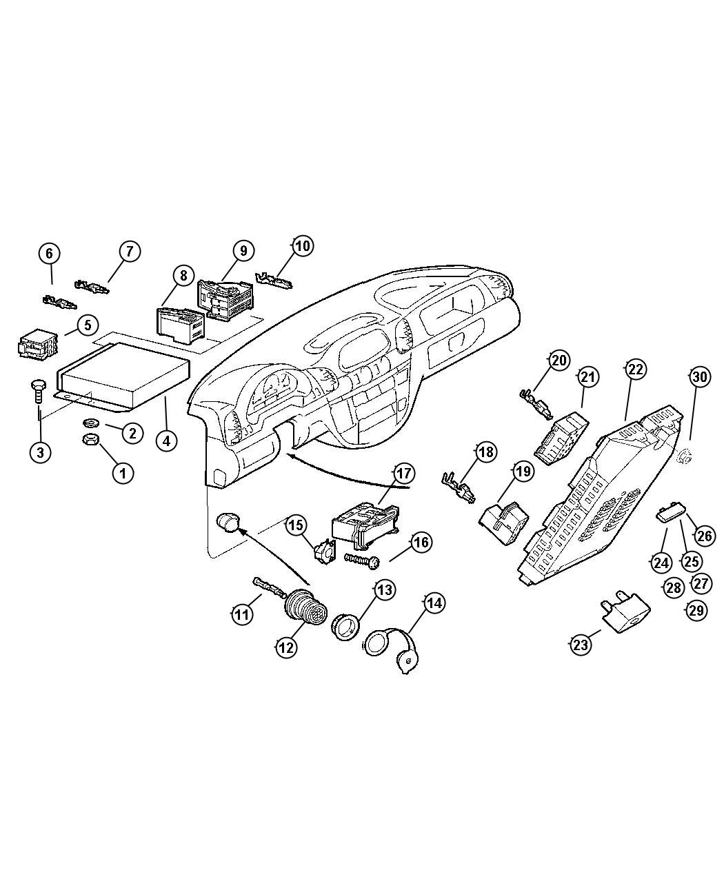 2004 Dodge SPRINTER 3500 Module. Powertrain control ...