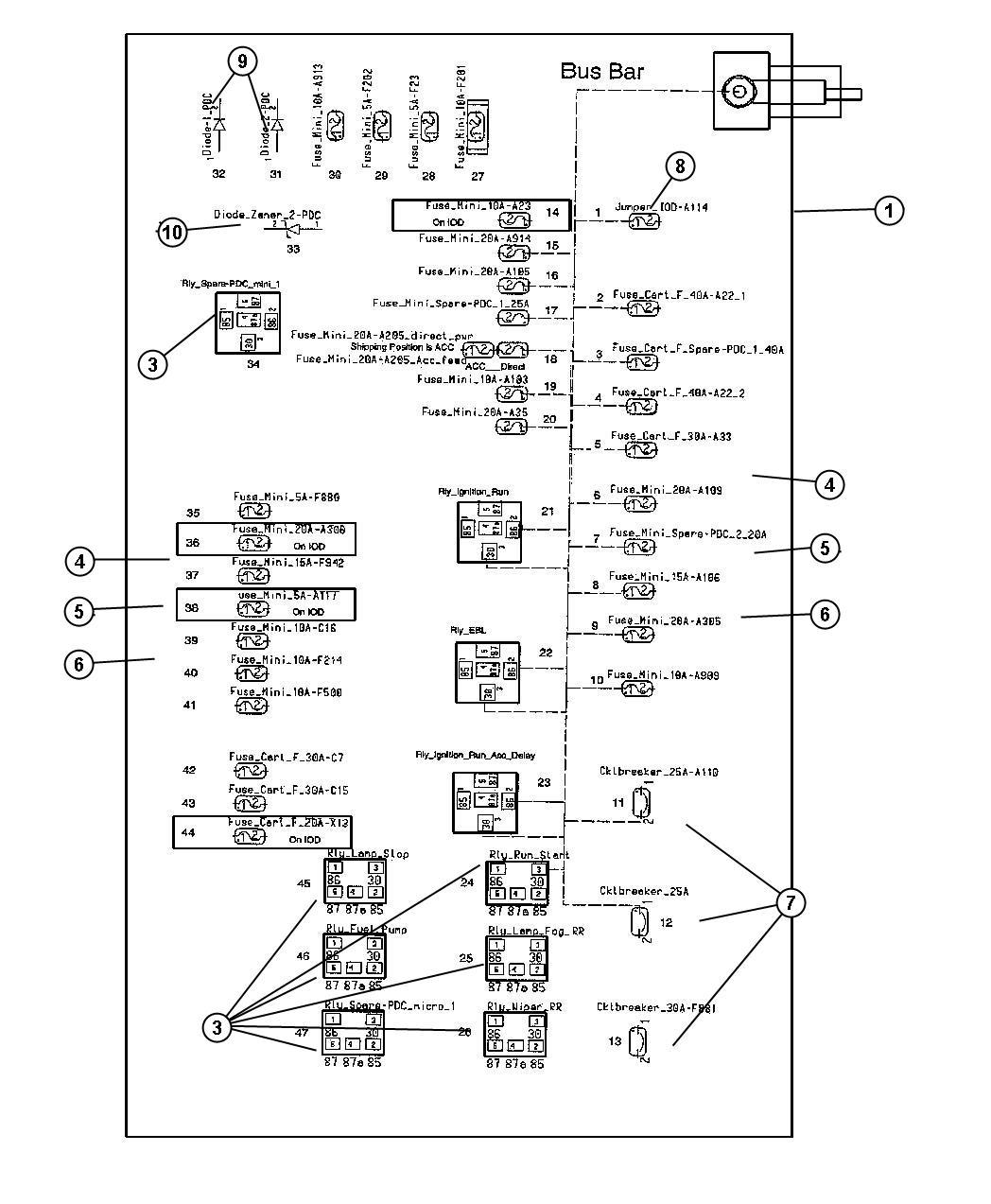 DIAGRAM] Fuse Panel Diagram 2006 Chrysler 300 FULL Version HD Quality Chrysler  300 - LADDERDIAGRAM71.SANVITOJAZZ.ITsanvitojazz.it