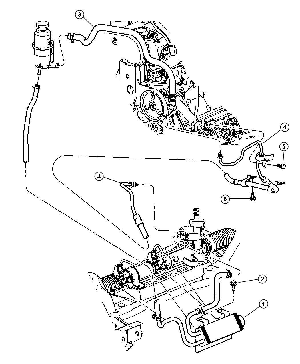 chrysler pt cruiser cooler  power steering   autostick  r