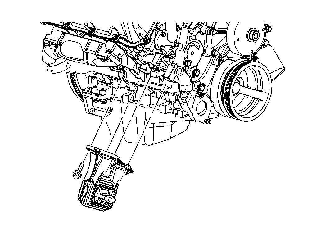 2012 chrysler 300 hose  crankcase vent  engine  mounting