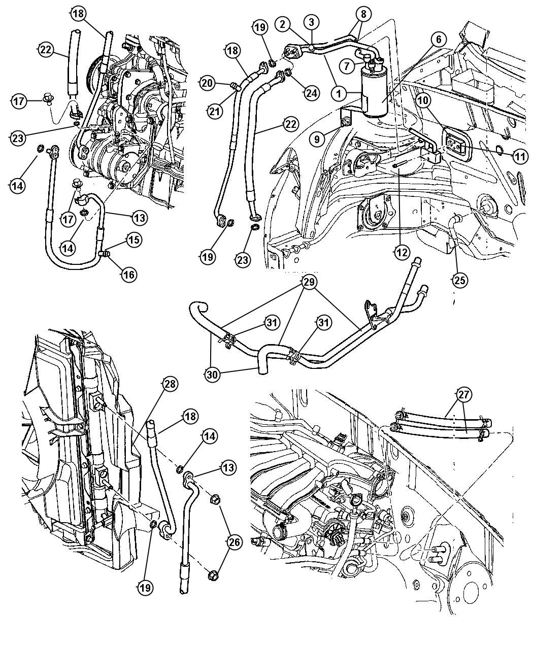 chrysler air conditioner parts diagram  u2022 wiring diagram