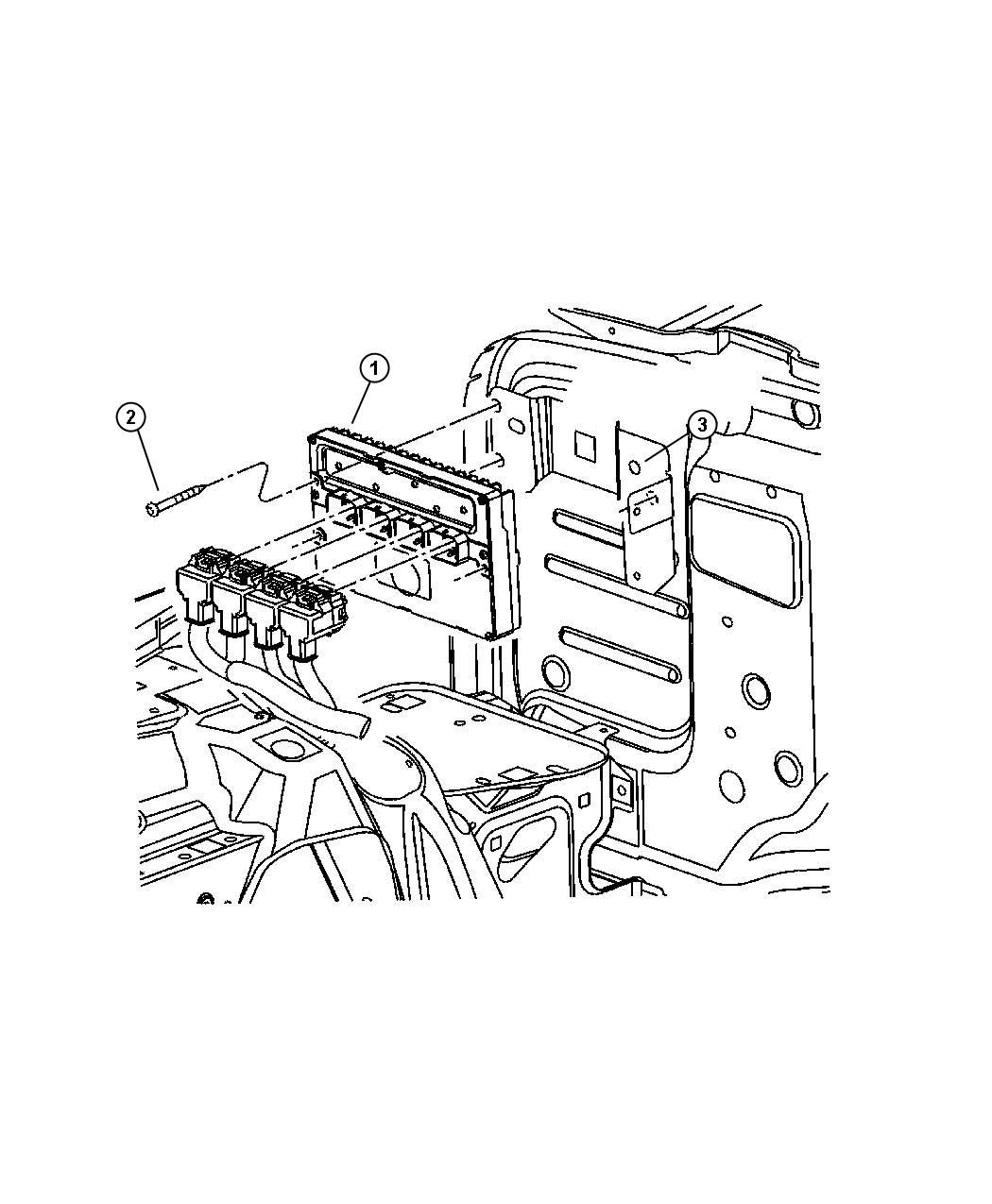 jeep wrangler module powertrain control emissions. Black Bedroom Furniture Sets. Home Design Ideas