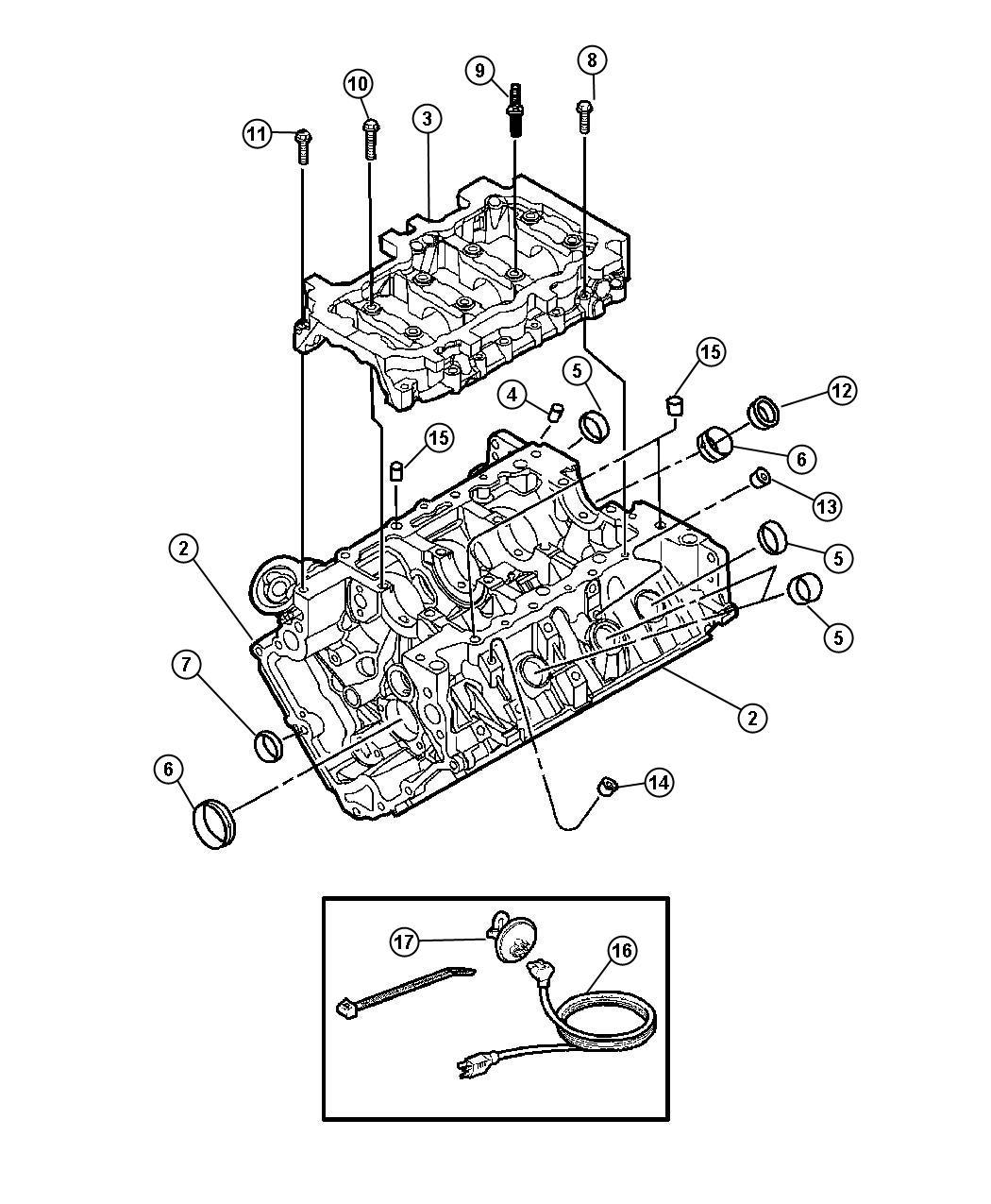 2006 jeep commander engine long block remanufactured. Black Bedroom Furniture Sets. Home Design Ideas