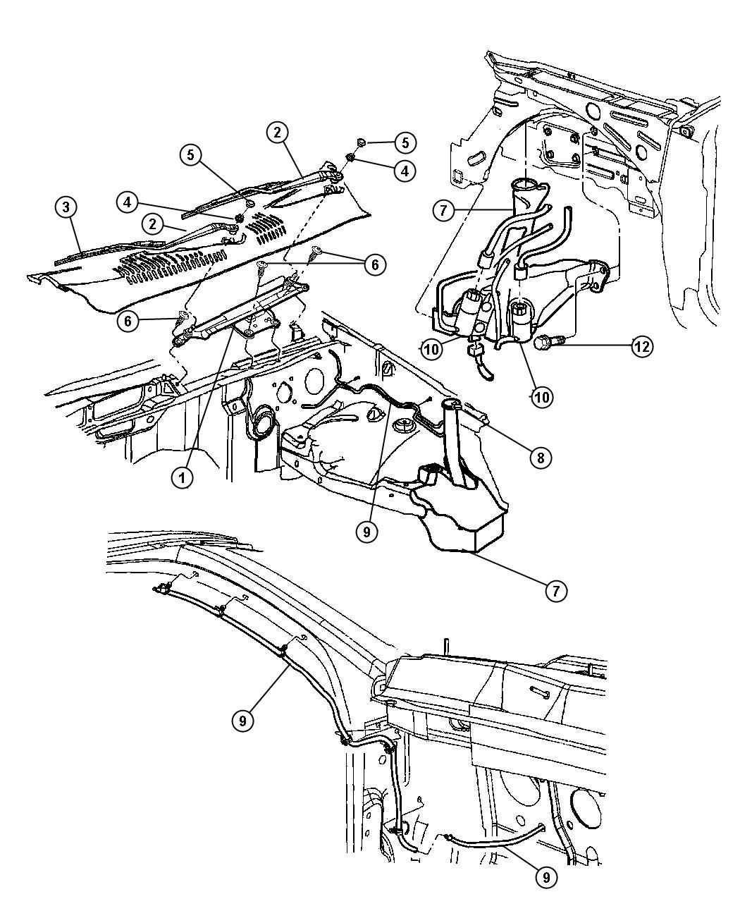 Bing Maps V6 3 To V8 Migration Guide: 2006 Dodge Grand Caravan Pump. Windshield Washer. Dual