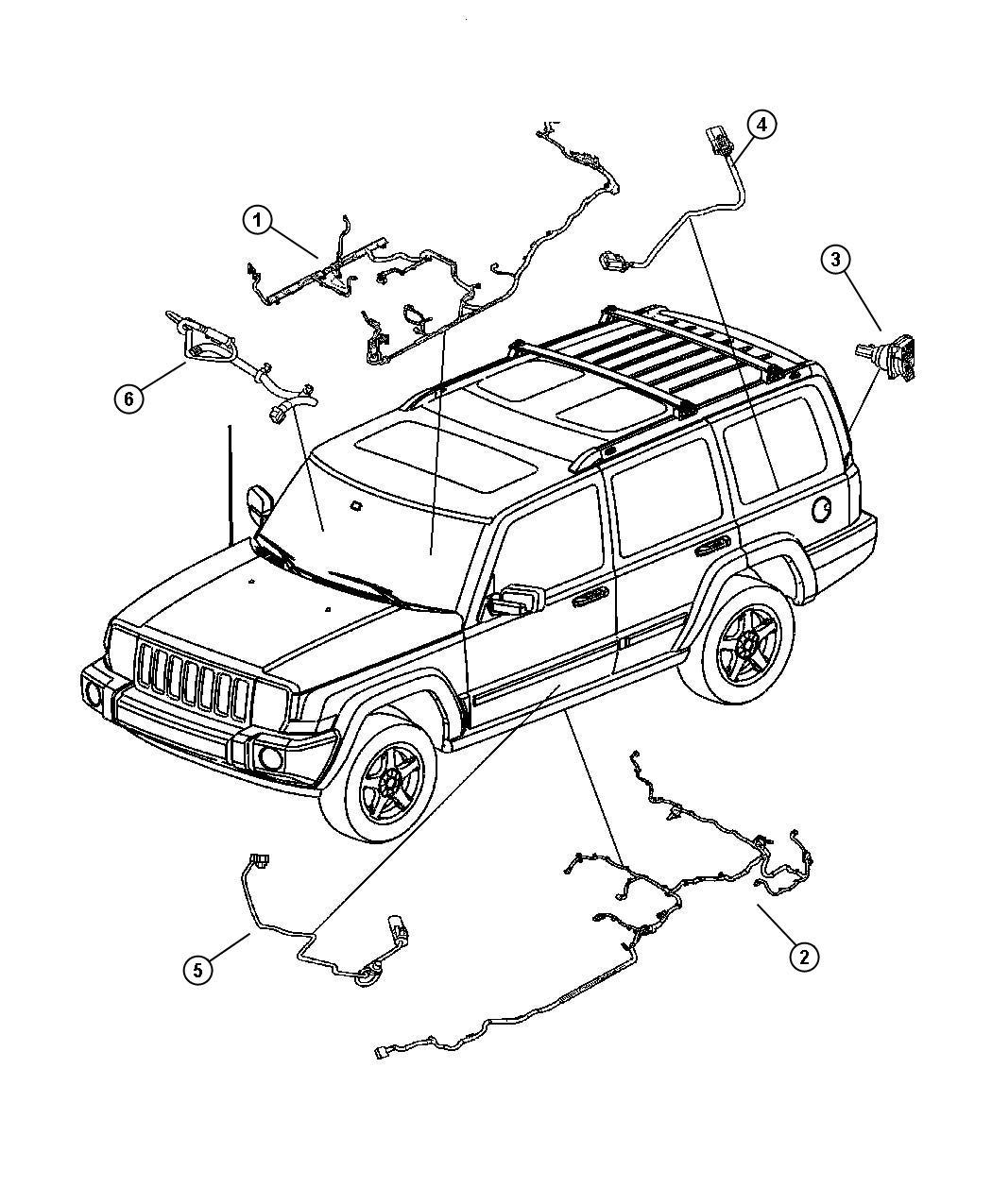 2006 Jeep Commander Fuel Wiring Diagram