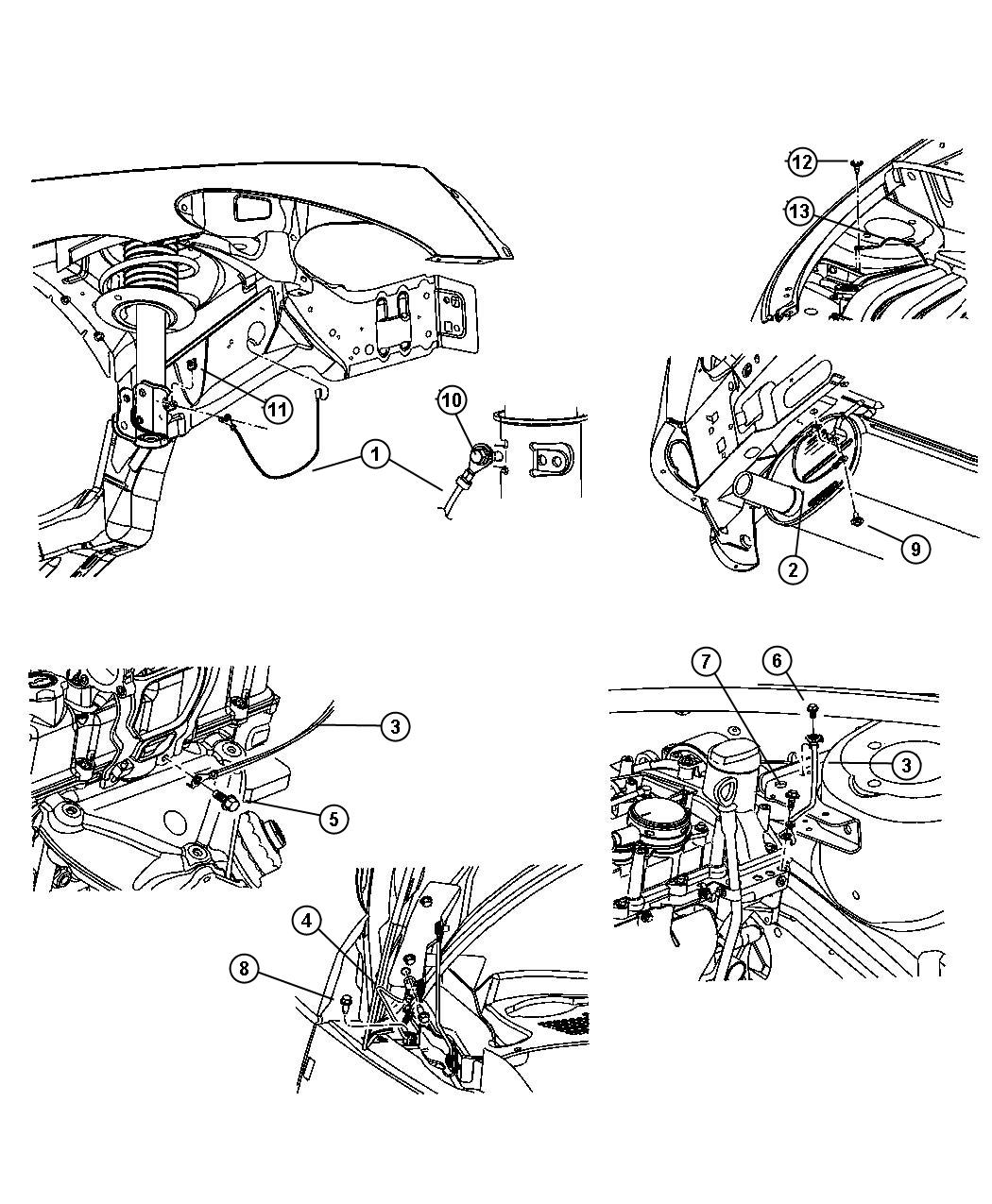 pt cruiser frame diagram wiring diagrams
