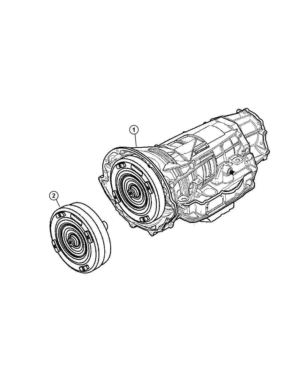dodge durango converter package  torque converter  remanufactured