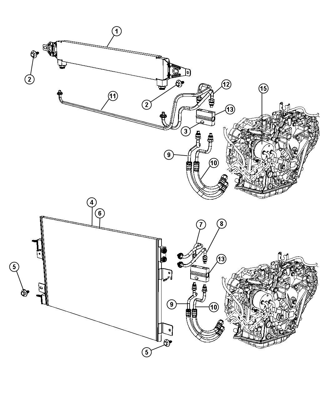 2007 Jeep Patriot Tube  Transmission By