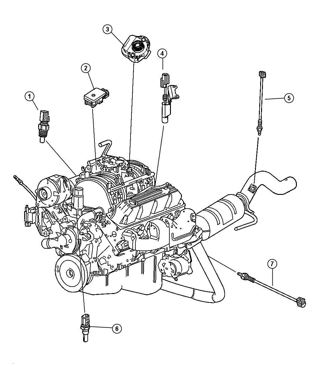 2013 Chrysler 300 Sensor  Coolant Temperature  Torque