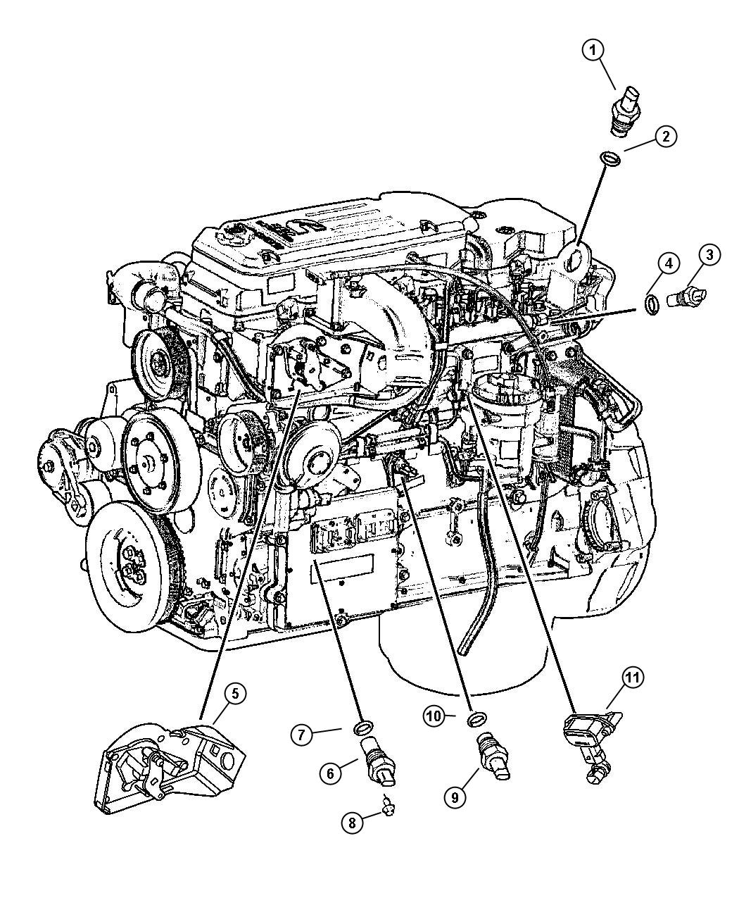 1997 Dodge Ram 2500 Engine Diagram