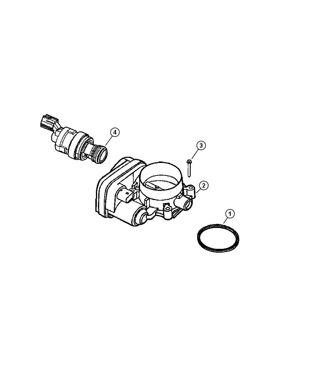 Jeep Grand Cherokee Sensor  Sensor Kit  Throttle Position