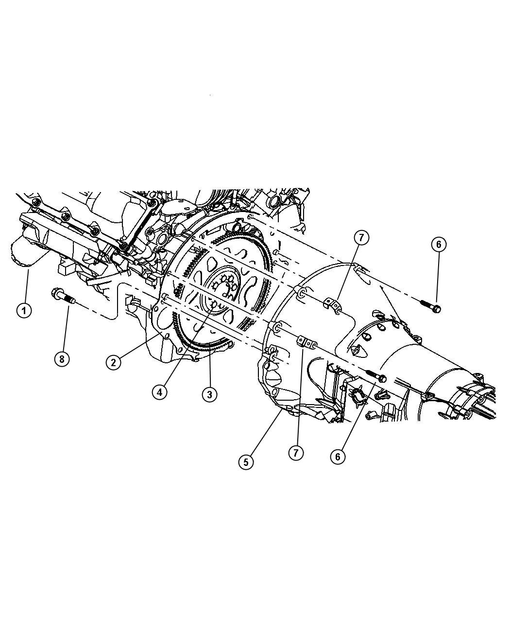 Jeep Commander Cover  Transmission Dust  Mounting