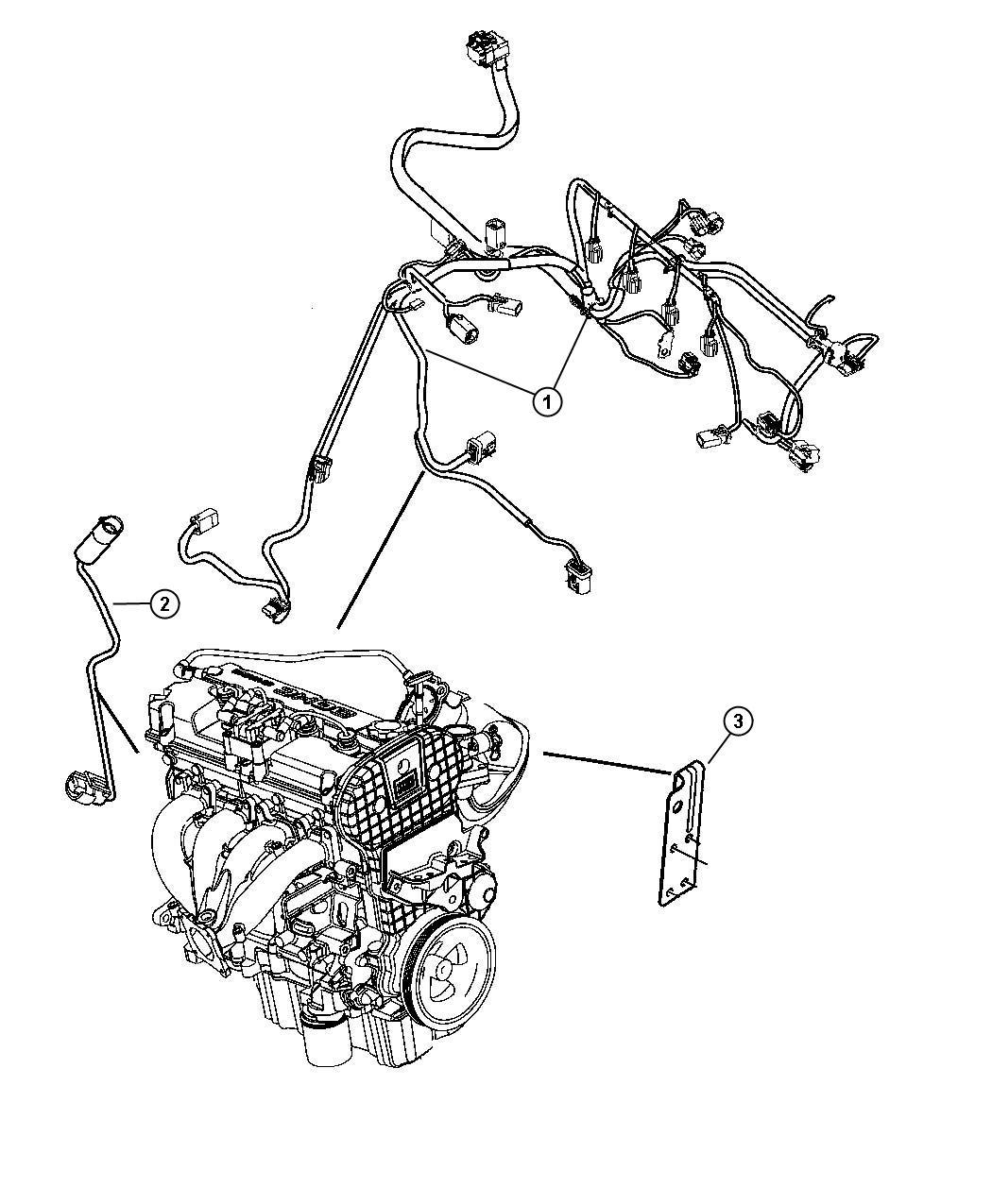 Chrysler Sebring Wiring. Transmission - 04801320AE | Mopar ...