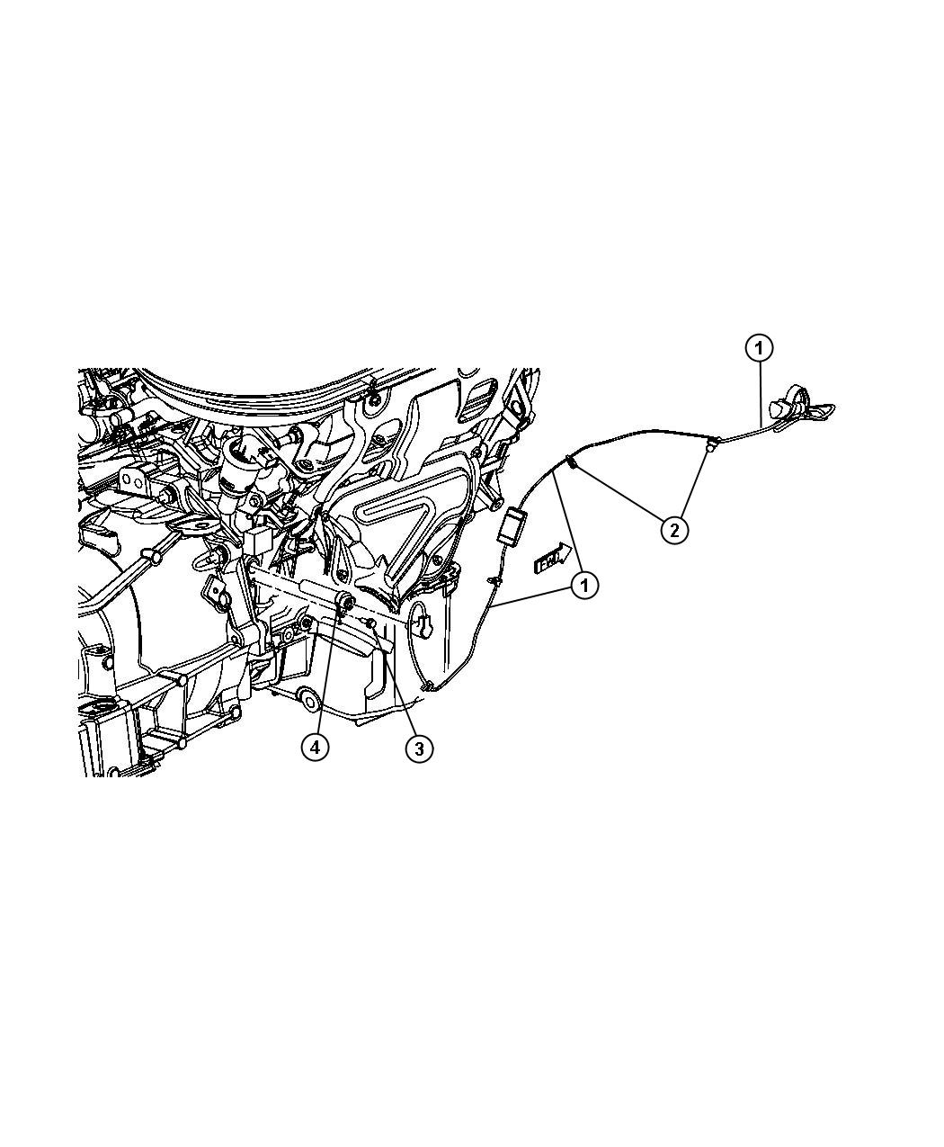 Dodge Magnum Cord  Engine Block Heater  For 2 7l And 3 5l