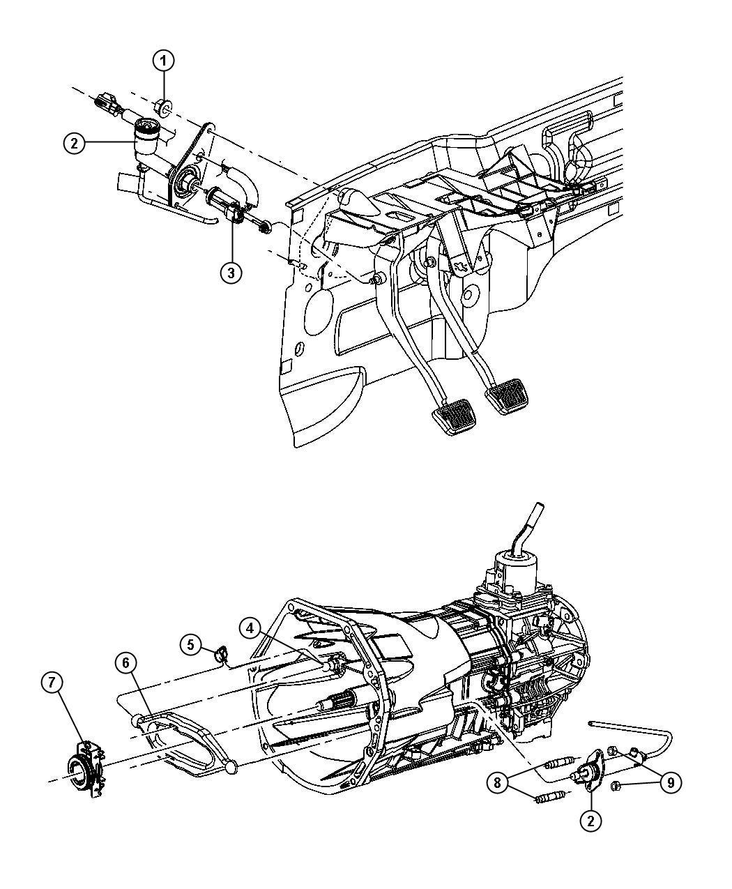 2006 jeep liberty switch  clutch starter interlock