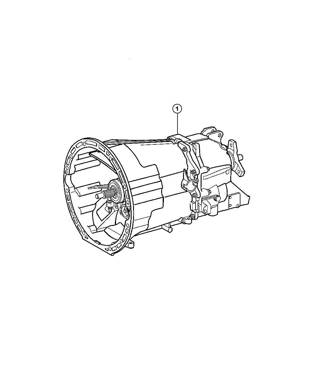 Jeep Wrangler Transmission. Nsg370. Assembly - RL050145AA ...