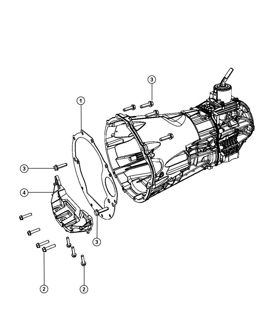 2007 jeep wrangler collar  power plant bending  transmission