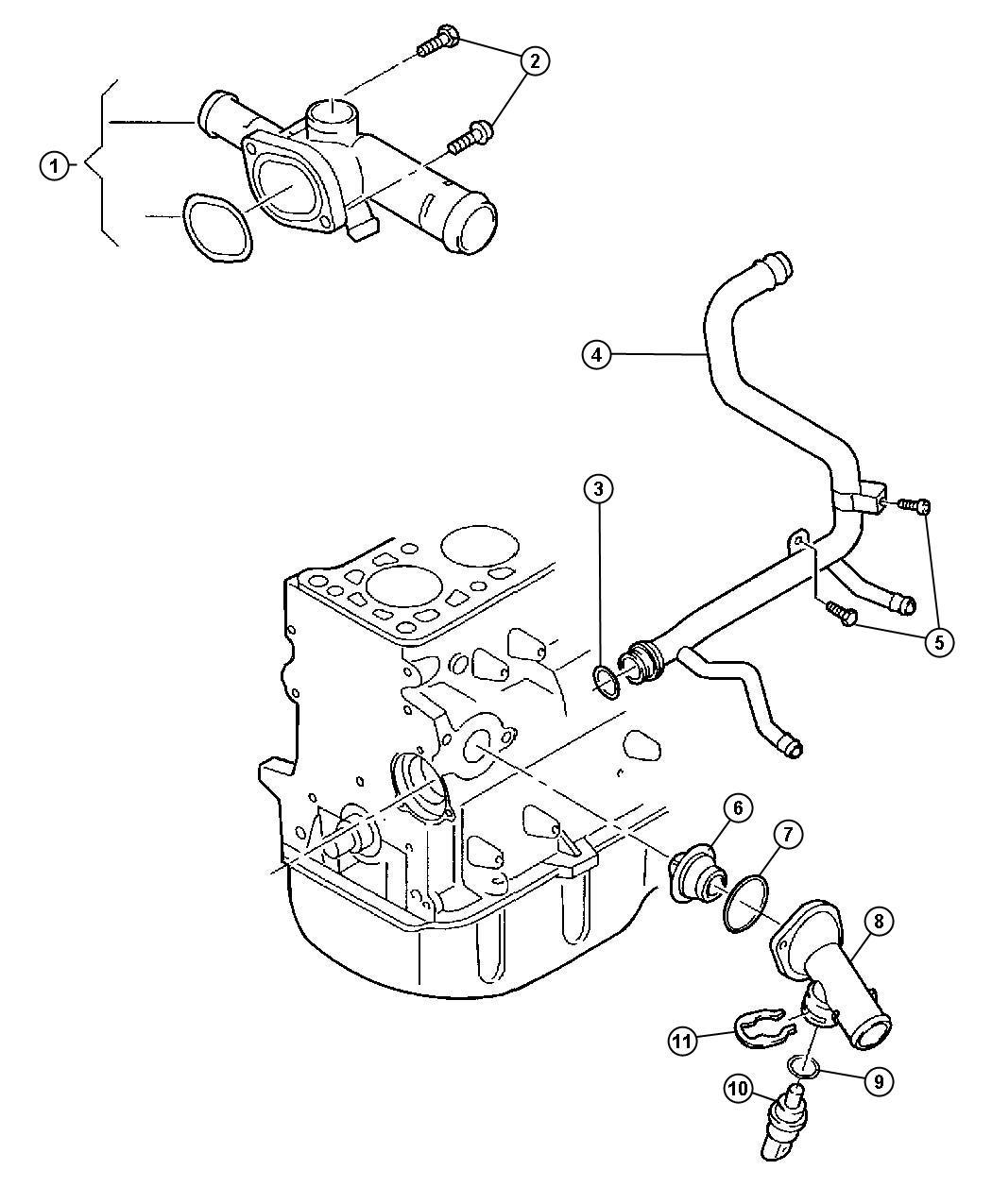 2008 dodge caliber parts diagrams