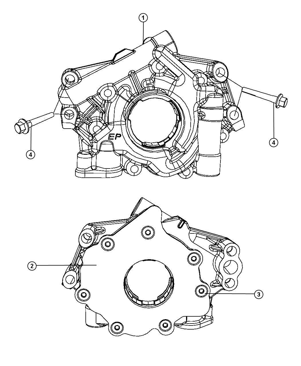 Dodge Magnum Pump  Engine Oil  Oiling  Hemi  Smpi  Mopar