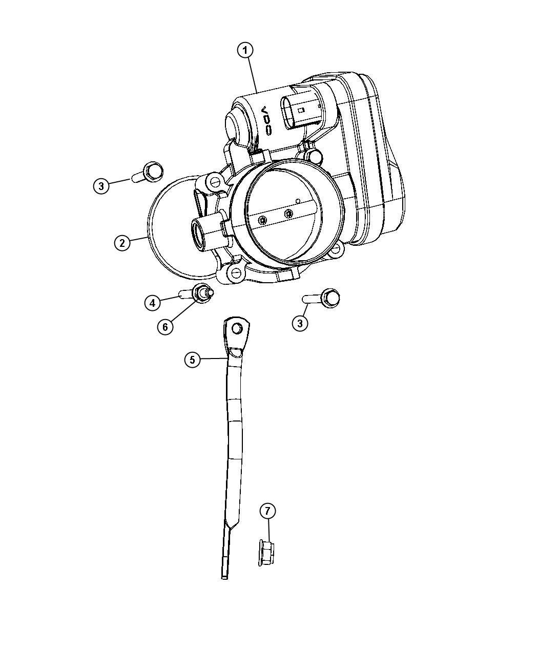2008    Chrysler    Sebring    Throttle       body    Intake  manifold