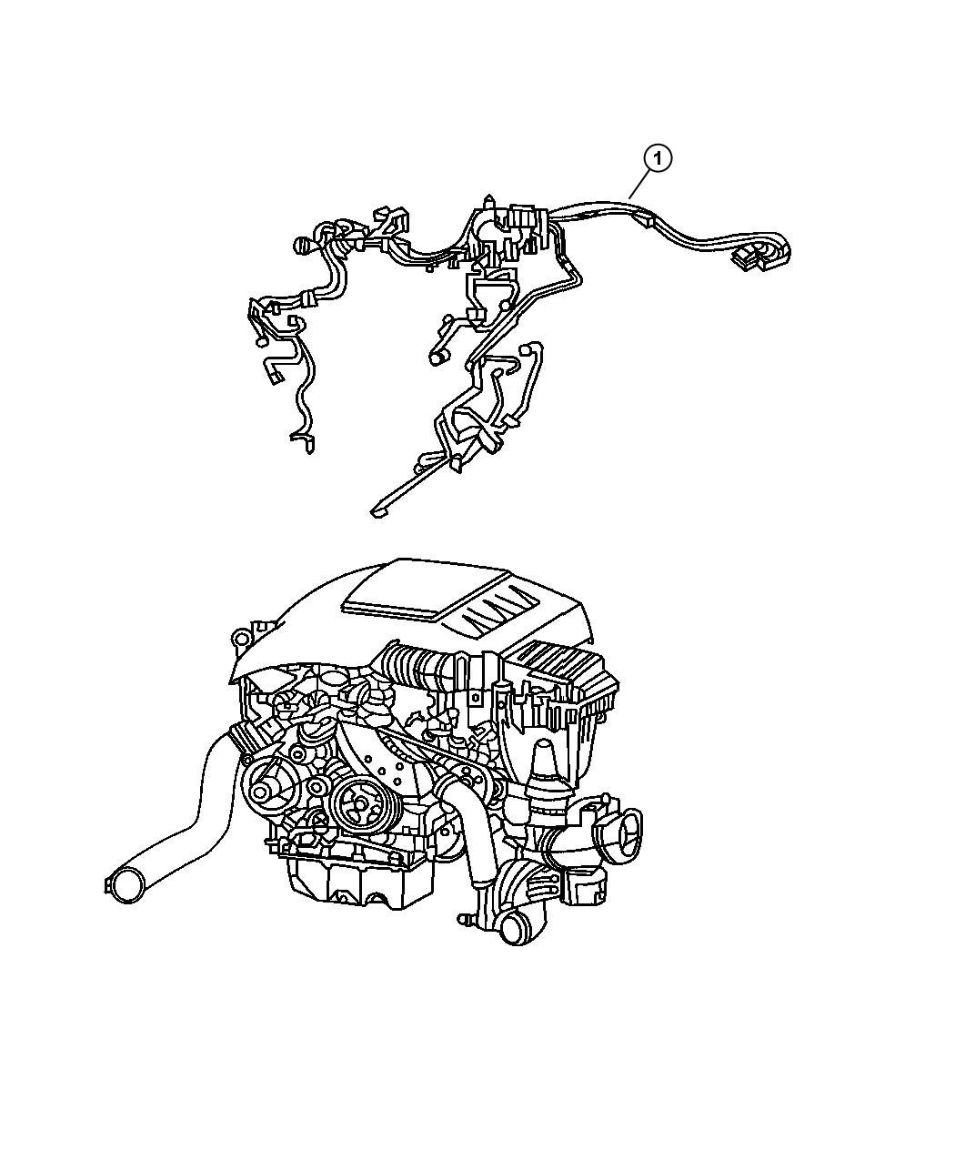 Jeep Grand Cherokee Wiring  Engine  After  Diesel