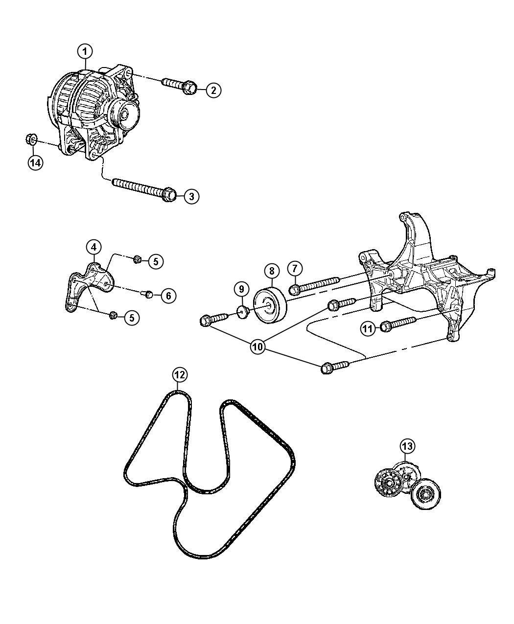 Chrysler Aspen Belt  Serpentine  Belts  Maintenance