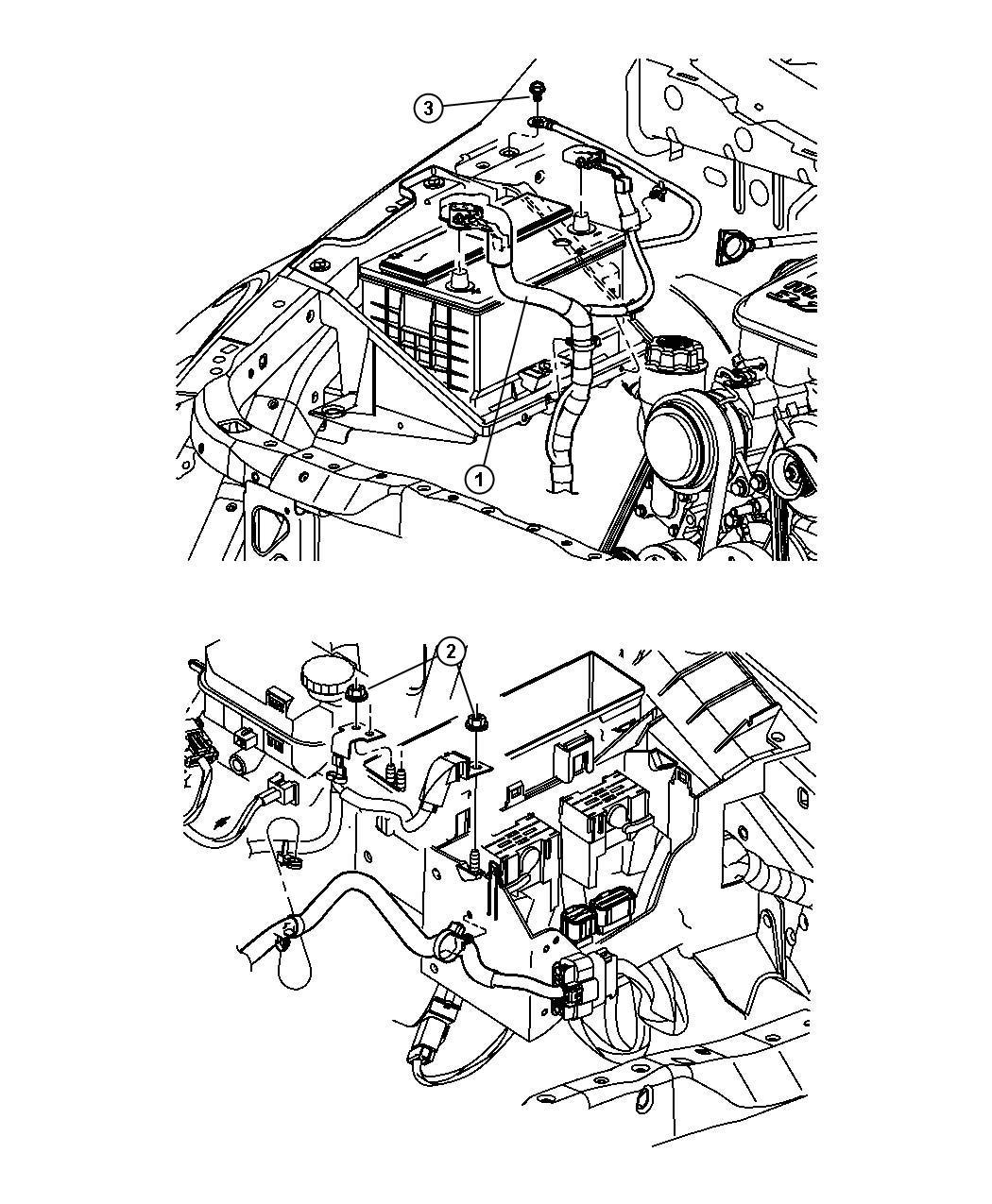 Chrysler Aspen Nut  Hex  M6x1  Mounting