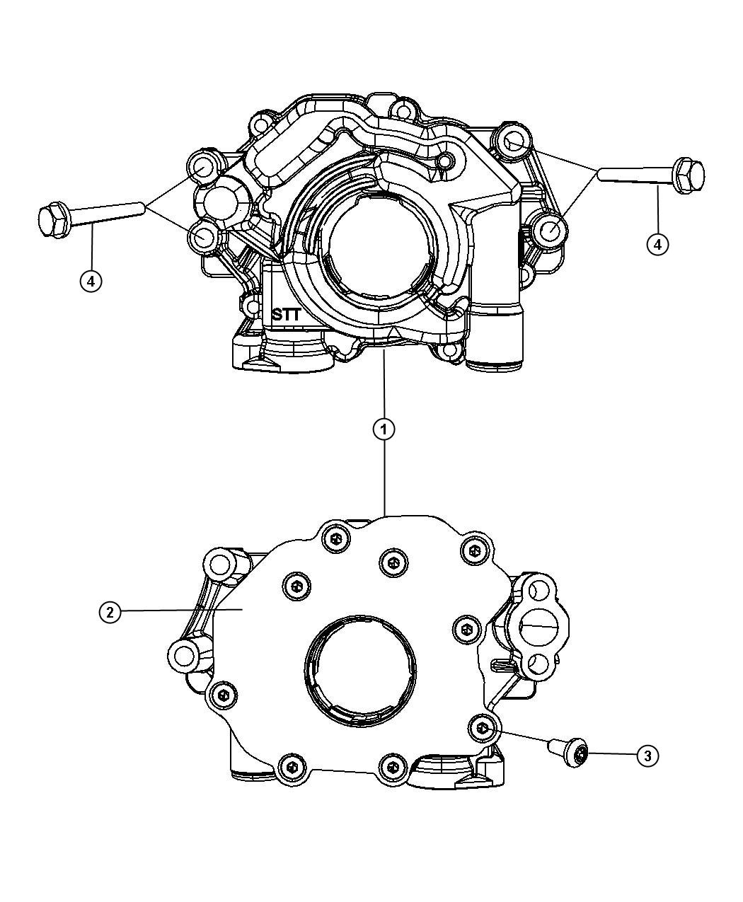 Chrysler Aspen Used For  Bolt And Coned Washer  Hex Head