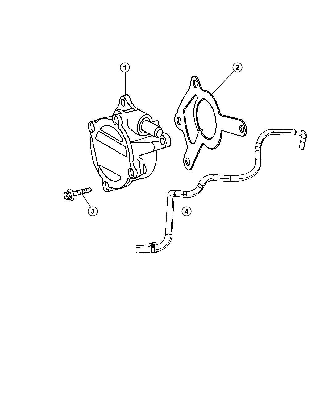 Jeep Grand Cherokee Pump. Vacuum. Diesel, turbo, engines ...