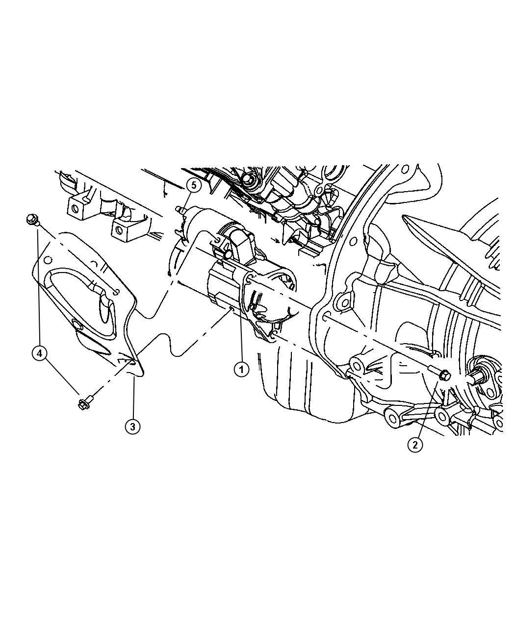 2009 Jeep Grand Cherokee Starter  Engine  Maintenance