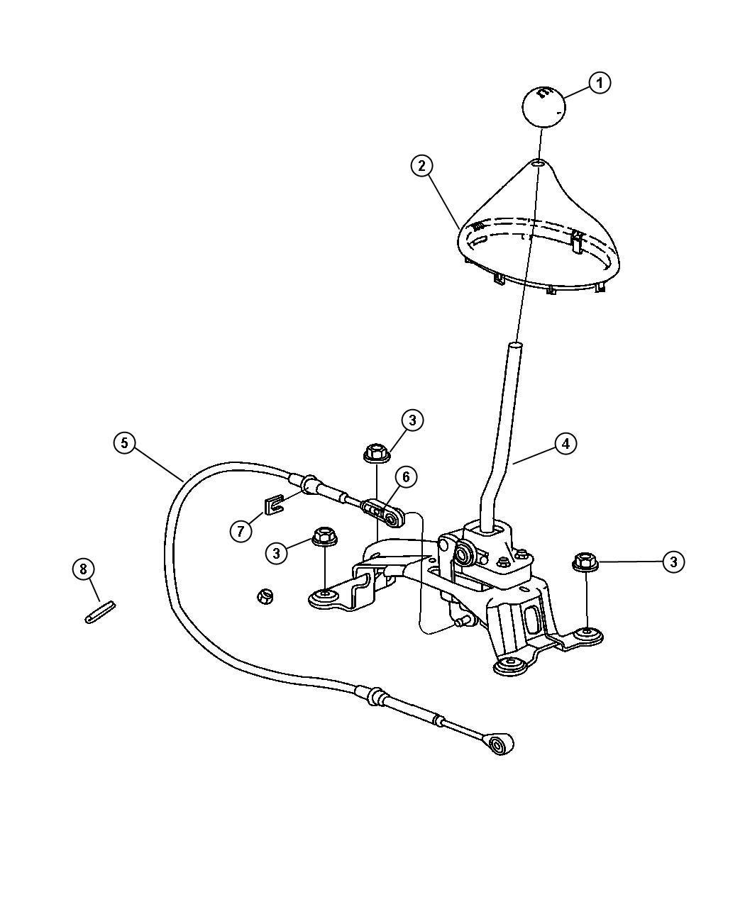 chrysler pt cruiser knob  gearshift  trim   all trim codes  color   pastel slate gray
