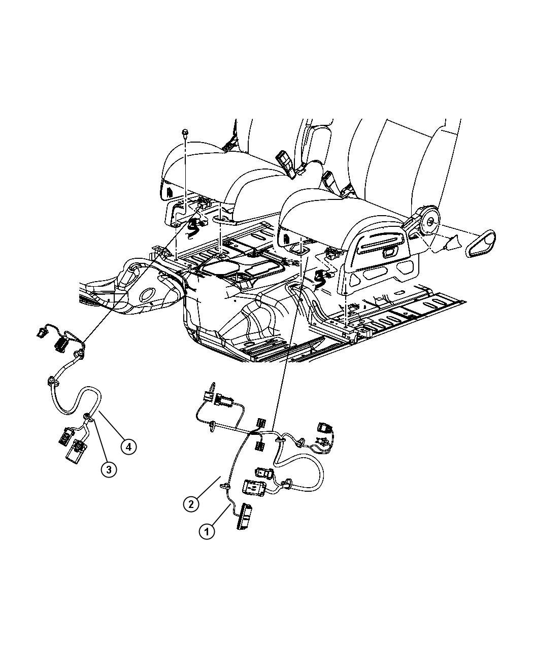 2009 jeep liberty wiring  passenger  seat  manual mexico