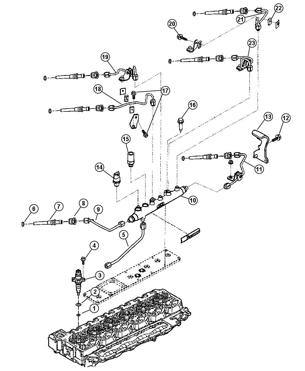 2004 dodge ram 2500 valve  pressure relief  emissions  export  federal