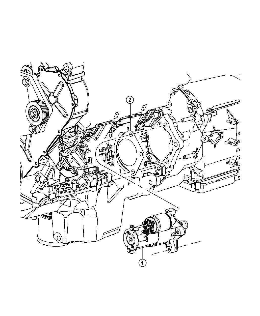2009 Dodge Nitro Starter  Engine  Remanufactured  Starters
