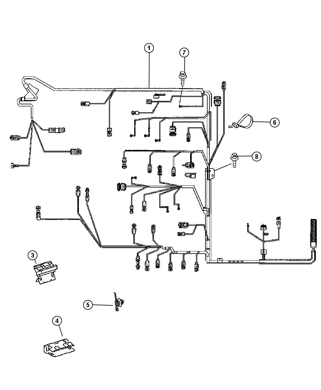 dodge sprinter 2500 harness  wiring  interchangeable with