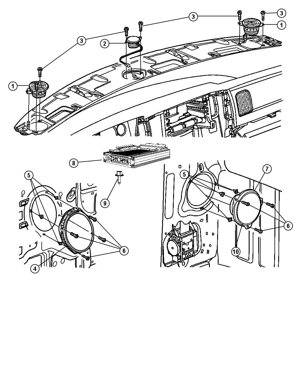 Chrysler Infinity Speaker Wiring Diagram