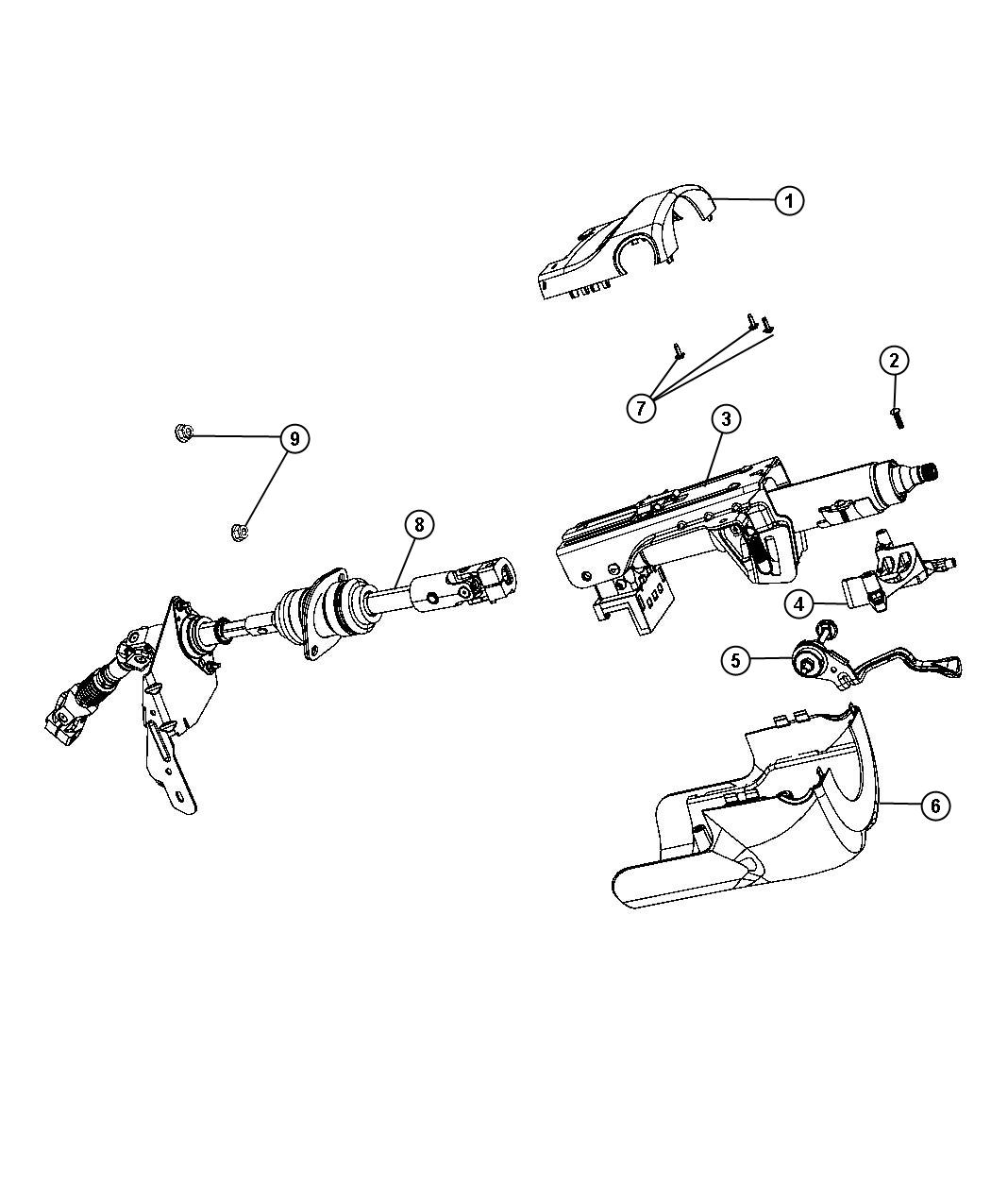 Jeep Grand Cherokee Support Mount  Used For  Multifunction