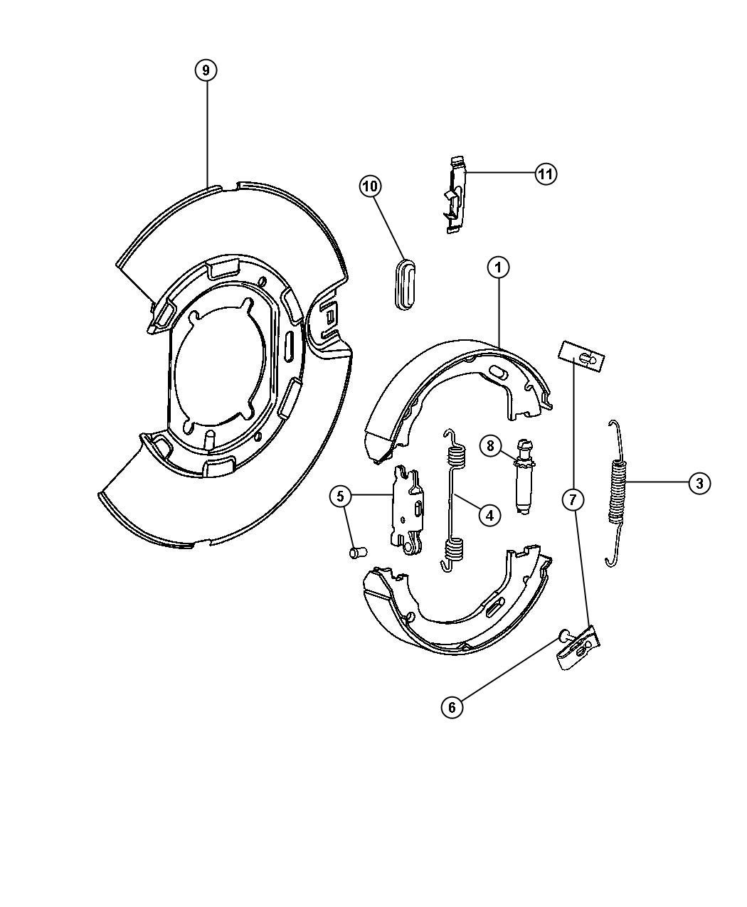 service manual  2010 chrysler 300 brake replacement system