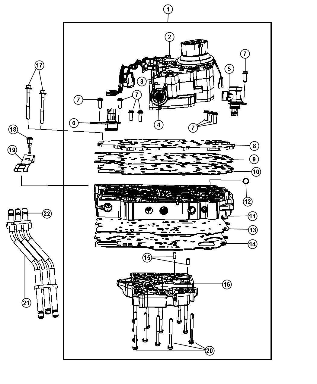 Dodge Grand Caravan Solenoid Module Transmission Wiring Diagram
