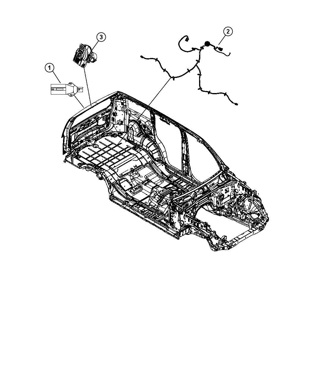 2008 Dodge Nitro Wiring  Fuel Tank   18 5 Gallon Fuel Tank