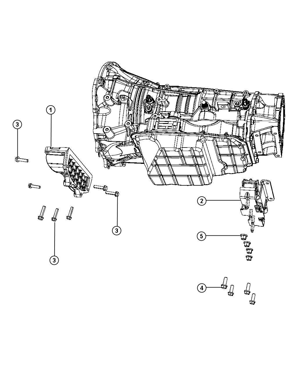 2012 dodge ram 2500 isolator  transmission mount