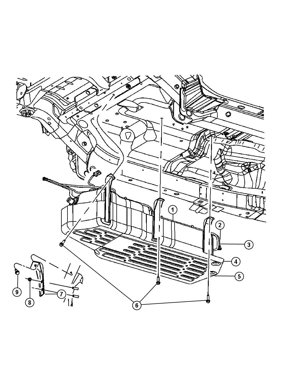 2008 jeep grand cherokee tube  fuel module to supply line  tank  gallon  skid