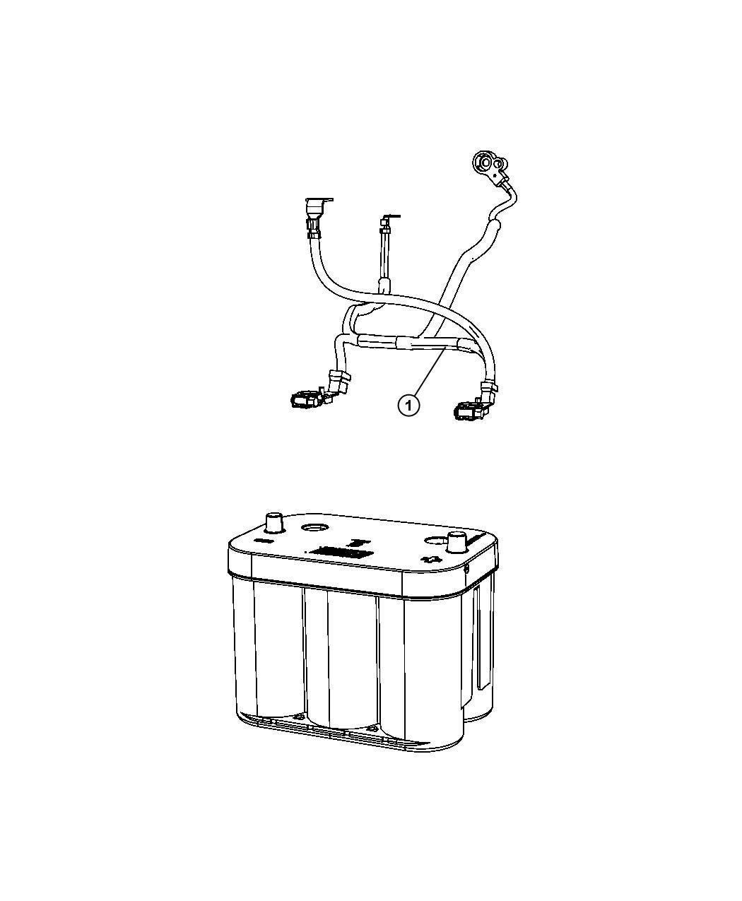 2010 dodge journey wiring battery tray mopar. Black Bedroom Furniture Sets. Home Design Ideas