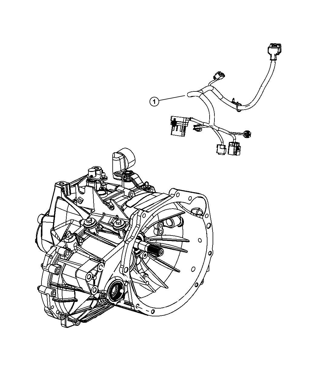 2010 dodge journey wiring  transmission  powertrain  mopar