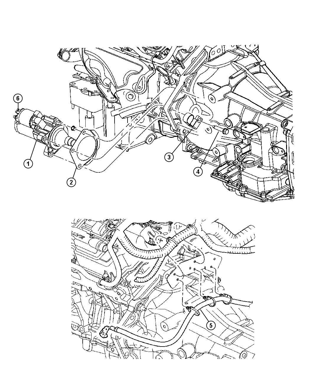 2010 Chrysler Sebring Starter  Engine  Module  Maintenance