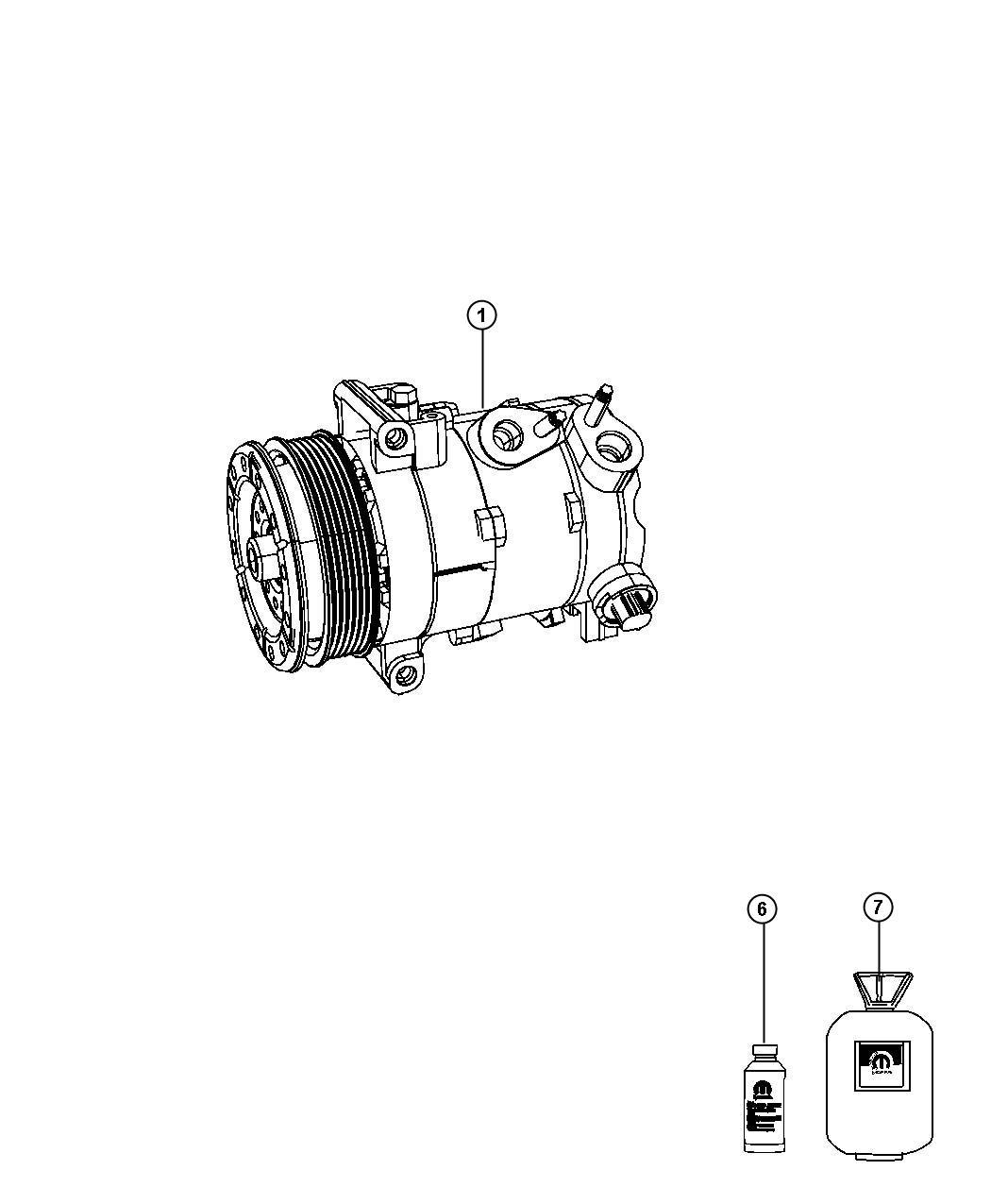 dodge avenger compressor  air conditioning  control  conditioningair  module