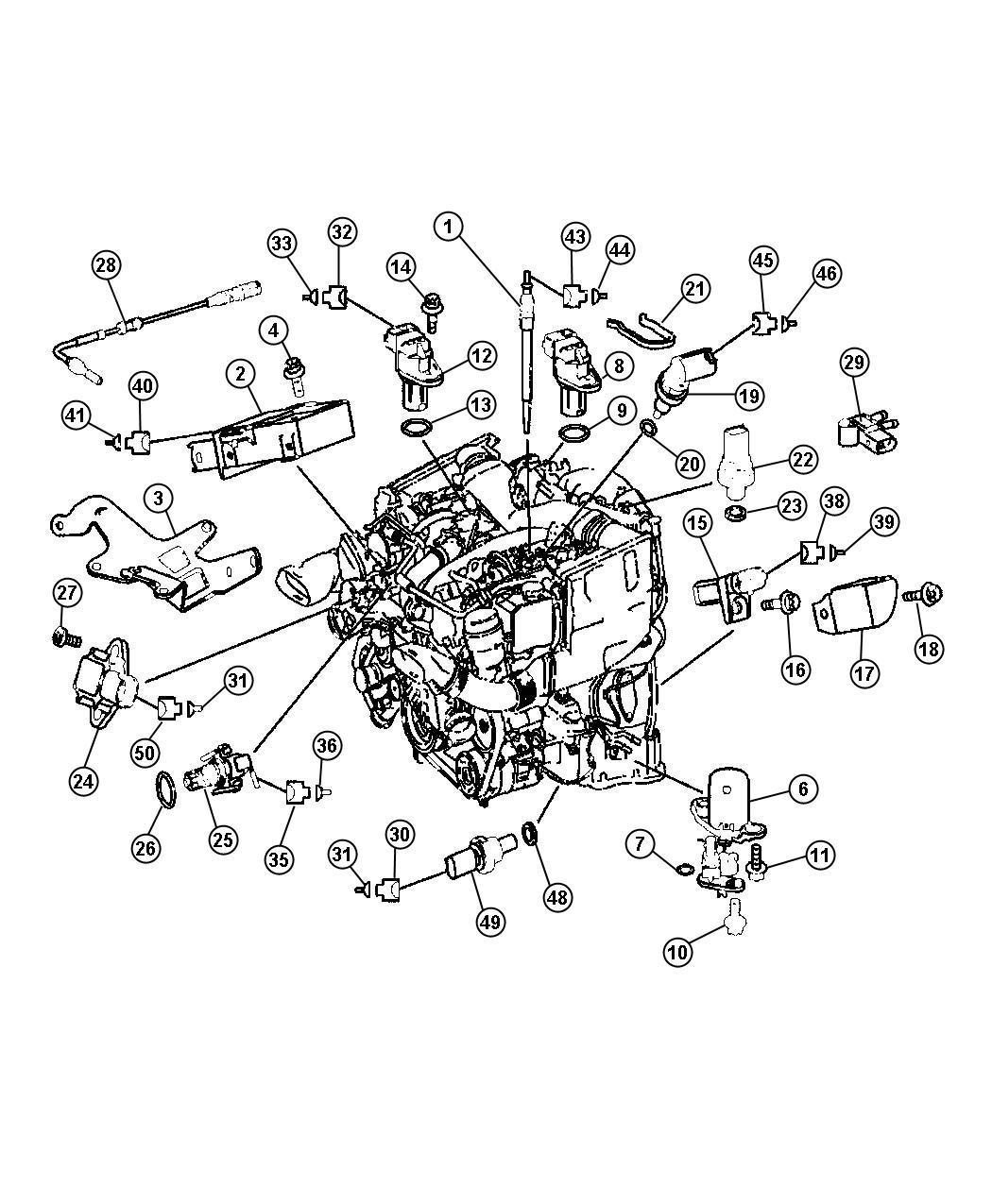 2008 Dodge Sprinter 2500 Module. Glow plug. Plugs, engine ...