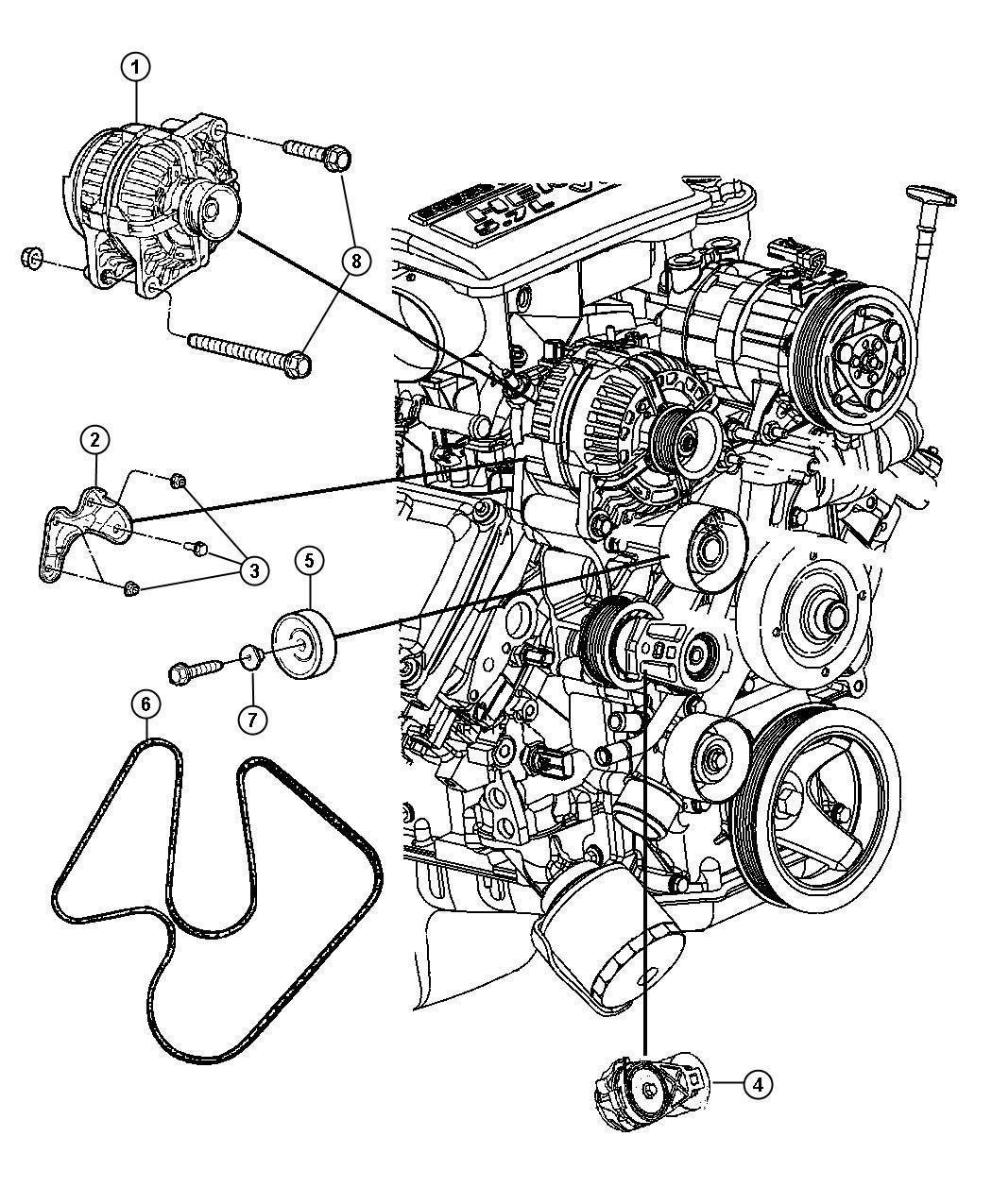 Dodge Ram 2500 Belt  Serpentine  Belts  Maintenance
