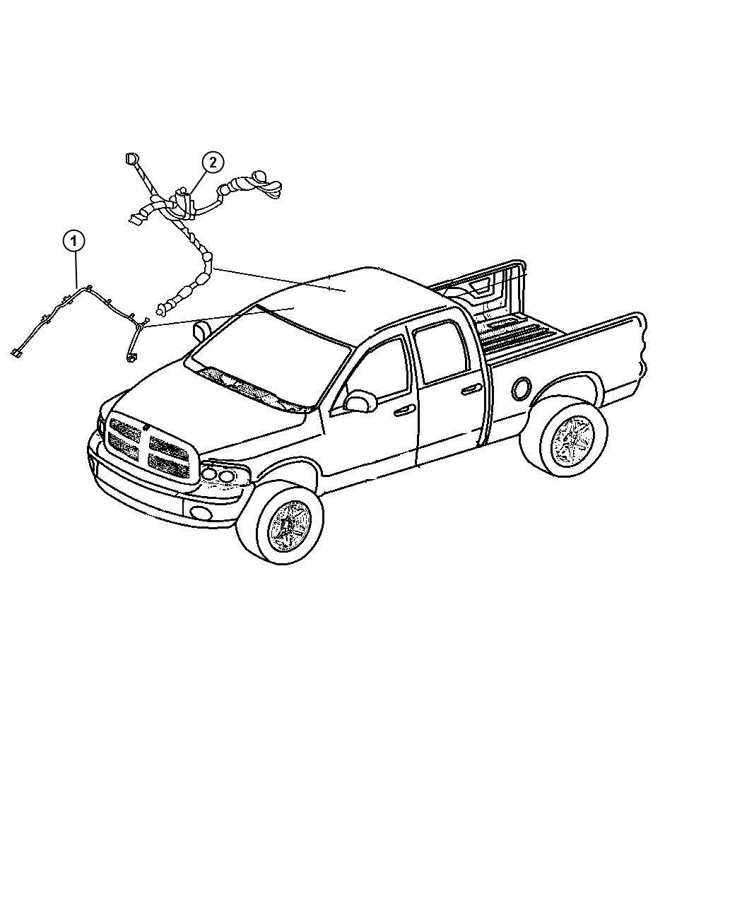 dodge ram 2500 wiring header rear view auto dim mirror. Black Bedroom Furniture Sets. Home Design Ideas