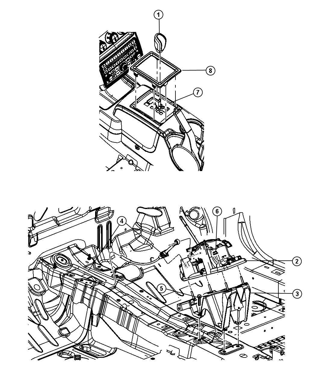 Dodge Journey Bezel  Console Shifter   4